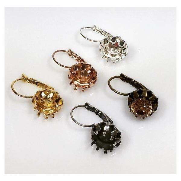 ss39 1028, 1088 Swarovski Lever back Earrings, Choose your options