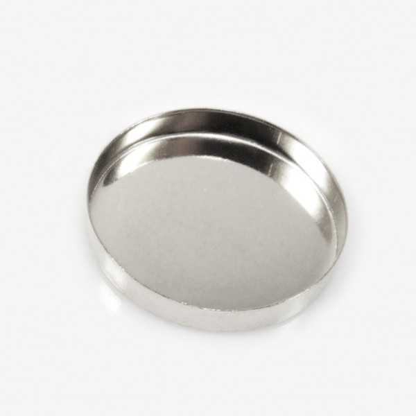 30mm Round 925 Sterling silver Bezel Cup