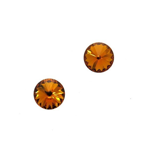 ss47 1122 Swarovski Rivoli Tangerine