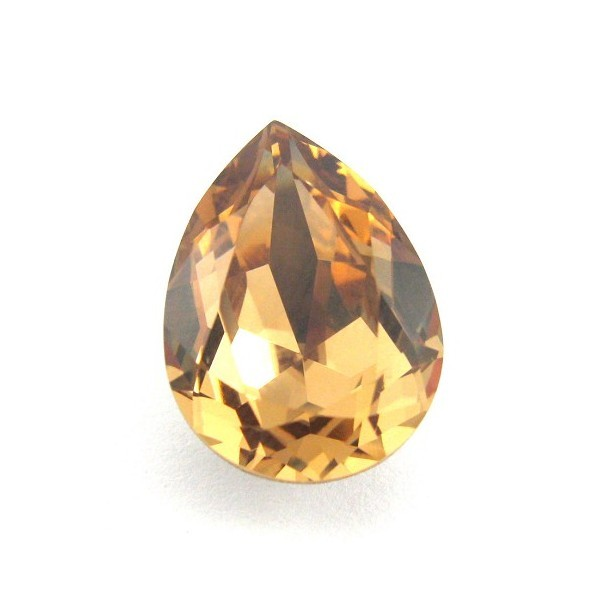 18x13mm 4320 Swarovski Pear Light Colorado Topaz