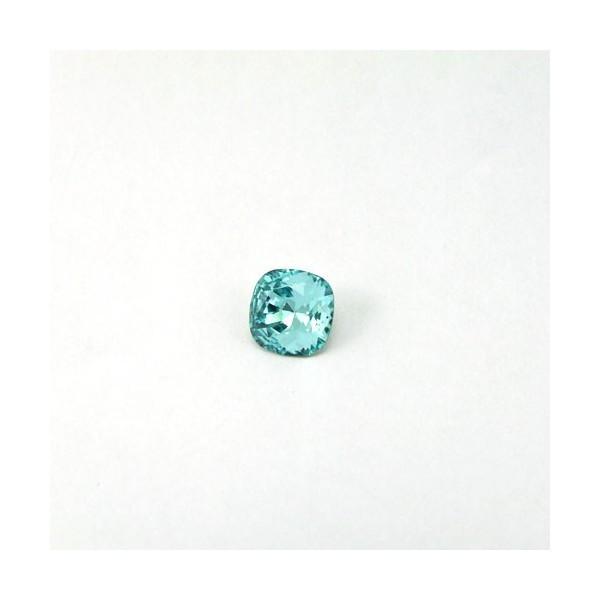 10mm 4470 Swarovski Square (cushion) Light Turquoise