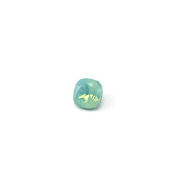 10mm 4470 Swarovski Square (cushion) Pacific Opal
