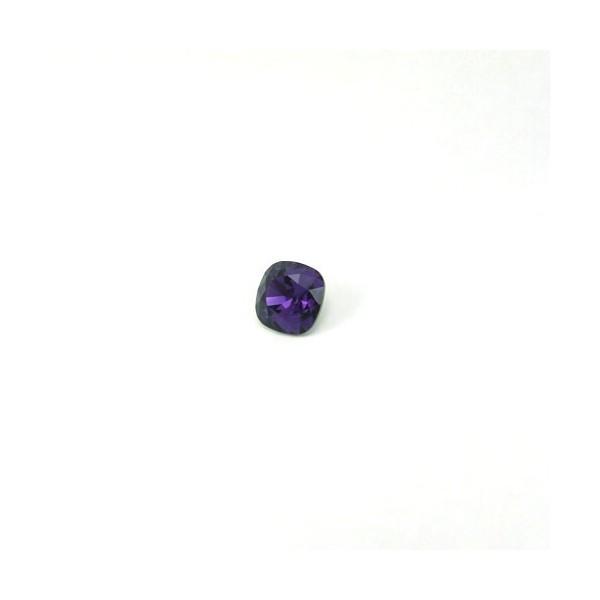 10mm 4470 Swarovski Square (cushion) Purple Velvet