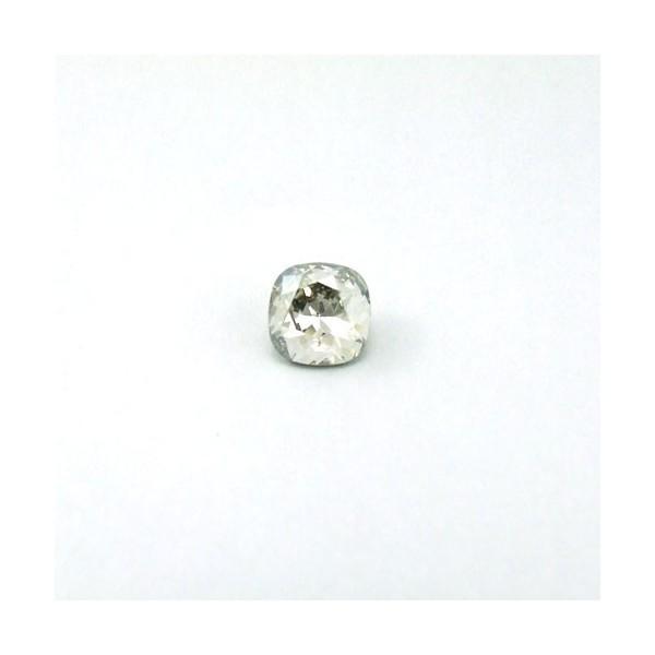 10mm 4470 Swarovski Square (cushion) Silver Shade
