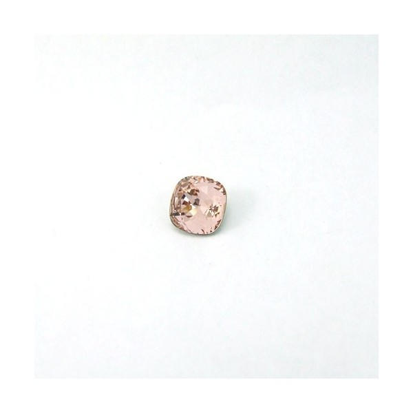 10mm 4470 Swarovski Square (cushion) Vintage Rose