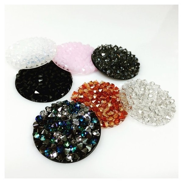 24mm 72013 Swarovski Crystal Rock,  Choose your color