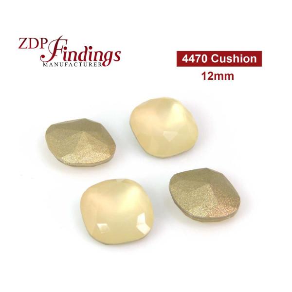 12mm 4470 Czech Crystals Sand Opal