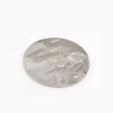 40mm Round Antique Silver Discs