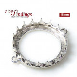 20mm Round Crown Bezel - Evolve collection Connector