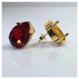 18x13mm 4320 Swarovski Post Earrings