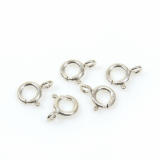 Sterling Silver 925 Spring Ring Clasps 7mm