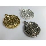 40mm Quality Cast Old Roman Antique Coin Pendant