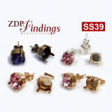 ss39 1028, 1088 Swarovski Post Earrings, Choose your options
