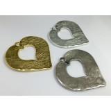70x70mm Heart Pendant