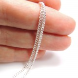 1.80mm Sterling Silver Curb Chain