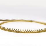 Brass Gallery Pattern Wire, 24 inch