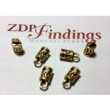 3.00mm Hole Antique Brass End Cap