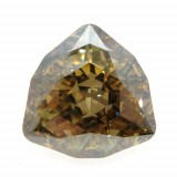 24mm 4706 Swarovski Trilliant Golden Shadow
