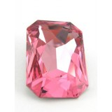 27x18.5mm 4627 Swarovski Octagon Light Rose