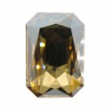 27x18.5mm 4627 Swarovski Octagon Golden Shadow