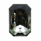 27x18.5mm 4627 Swarovski Octagon Black Diamond