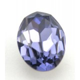 18x13mm 4120 Swarovski Oval Tanzanite