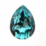 18x13mm 4320 Swarovski Pear Light Turquoise