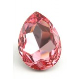 30x20mm 4327 Swarovski Pear Light Rose