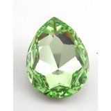 30x20mm 4327 Swarovski Pear Chrysolite