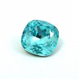 8mm 4470 Swarovski Square (cushion), Choose your color-Light Turquoise