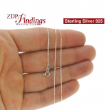 Sterling Silver 925 Finished Trace Chain