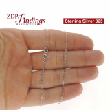 Sterling Silver 925 Finished Link Chain
