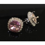 ss47 1122 Swarovski Post Rhinestone Earrings