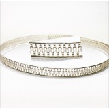 12 Inch Gallery Wire 935 Sterling Silver , 5x0.6mm