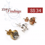 ss34 1028, 1088 Swarovski Post Earrings, Choose your options