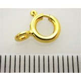 8mm Gold filled Spring ring clasps