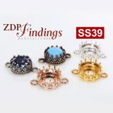 ss39 Shiny Brass Crown Bezel