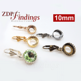 Ear Wire Earring, Choose your finish and size.