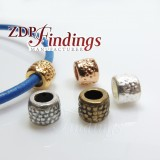 9x7mm Spacer Tube Barrel Beads hole size 5mm