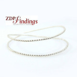 12 Inch Gallery Wire 935 Sterling Silver , 1.8mm