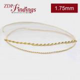 2.75mm Brass Strip Gallery Decorative Ribbon Wire