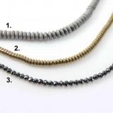 """Natural Hematite Beads 16"""""""