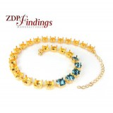 "280mm (11"") Necklace Base Fit 27 pcs Swarovski 39SS"