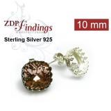 10mm 4470 Swarovski Post Earrings, Choose your options