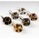 ss39 1028, 1088 Swarovski Lever back Earrings