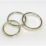 Sterling silver thick ring band, Choose your ring size.