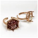 14mm 4681 Ring Base, Rose Gold