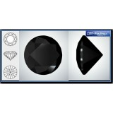 1.00mm 1088 Swarovski Crystal Rock Black