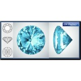 2.25mm 1088 Swarovski Crystal Rock Blue