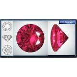 3.50mm 1088 Swarovski Crystal Rock Red